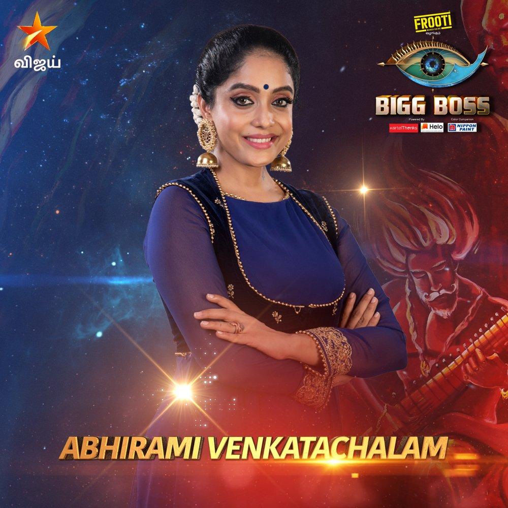 Bigg boss vote tamil for Abhirami