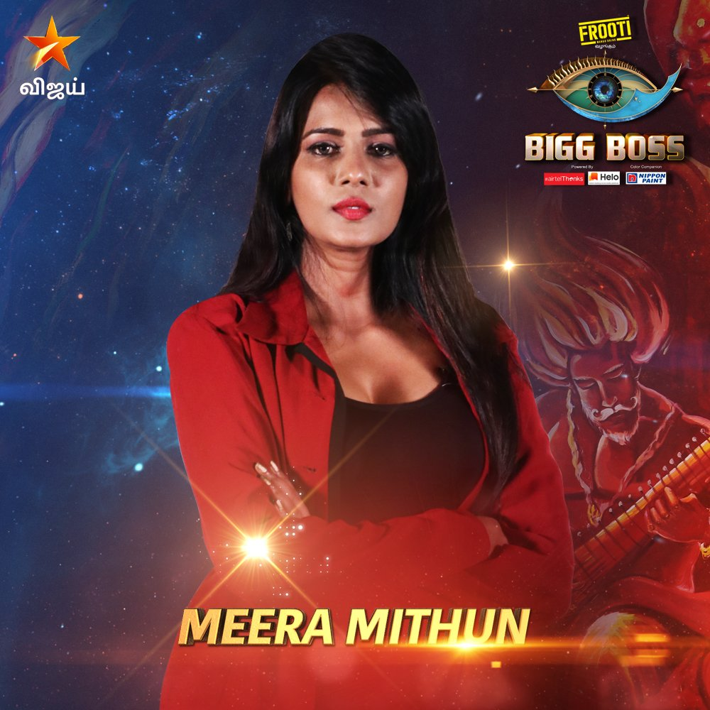Bigg boss vote tamil for Meera Mitun