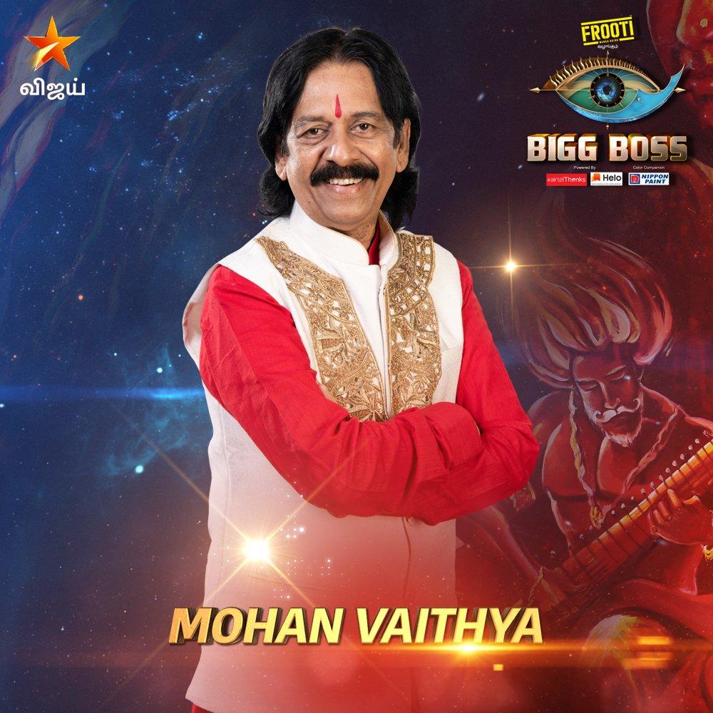 Bigg boss vote tamil for Mohan Vaidya