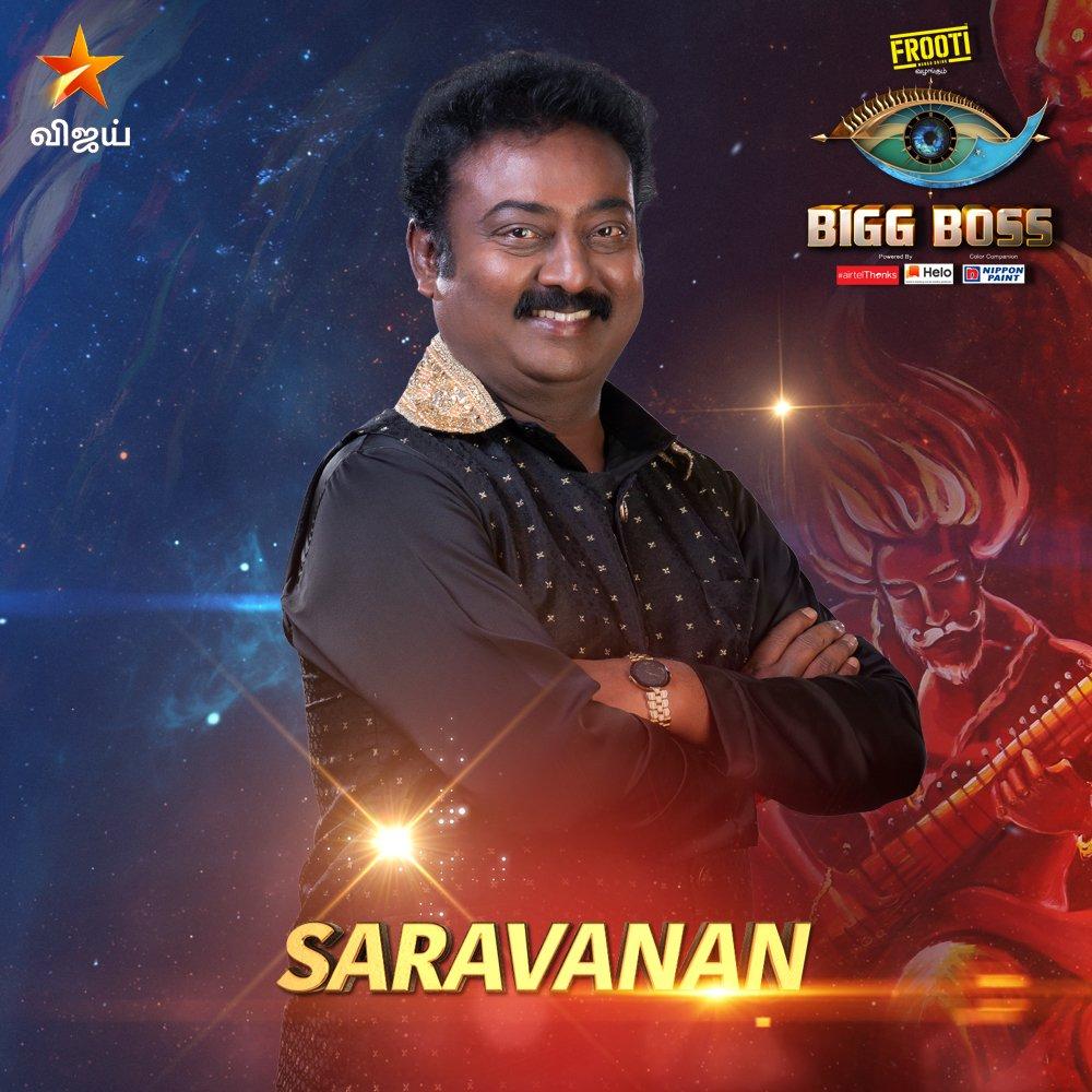 Bigg boss vote tamil for Saravanan