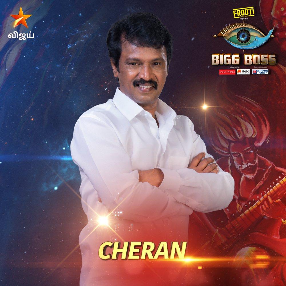 Bigg boss vote tamil for Cheran