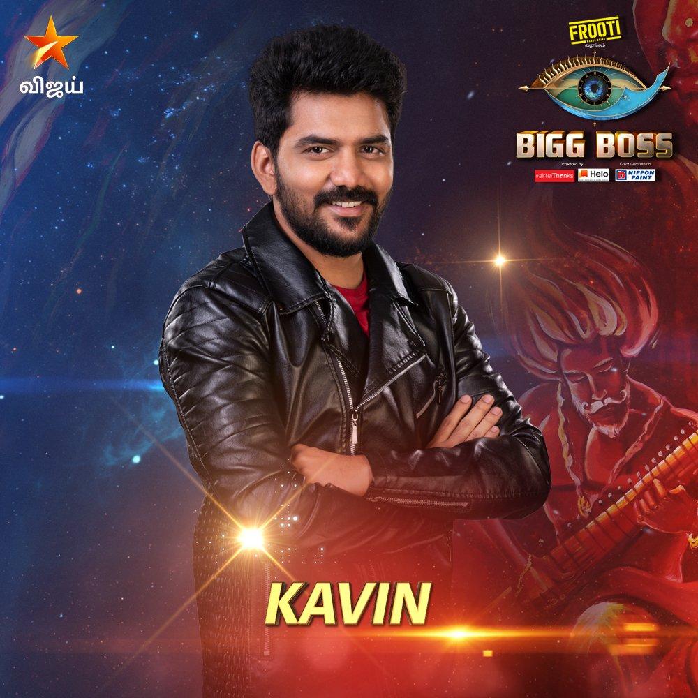 Bigg boss vote tamil for Kavin