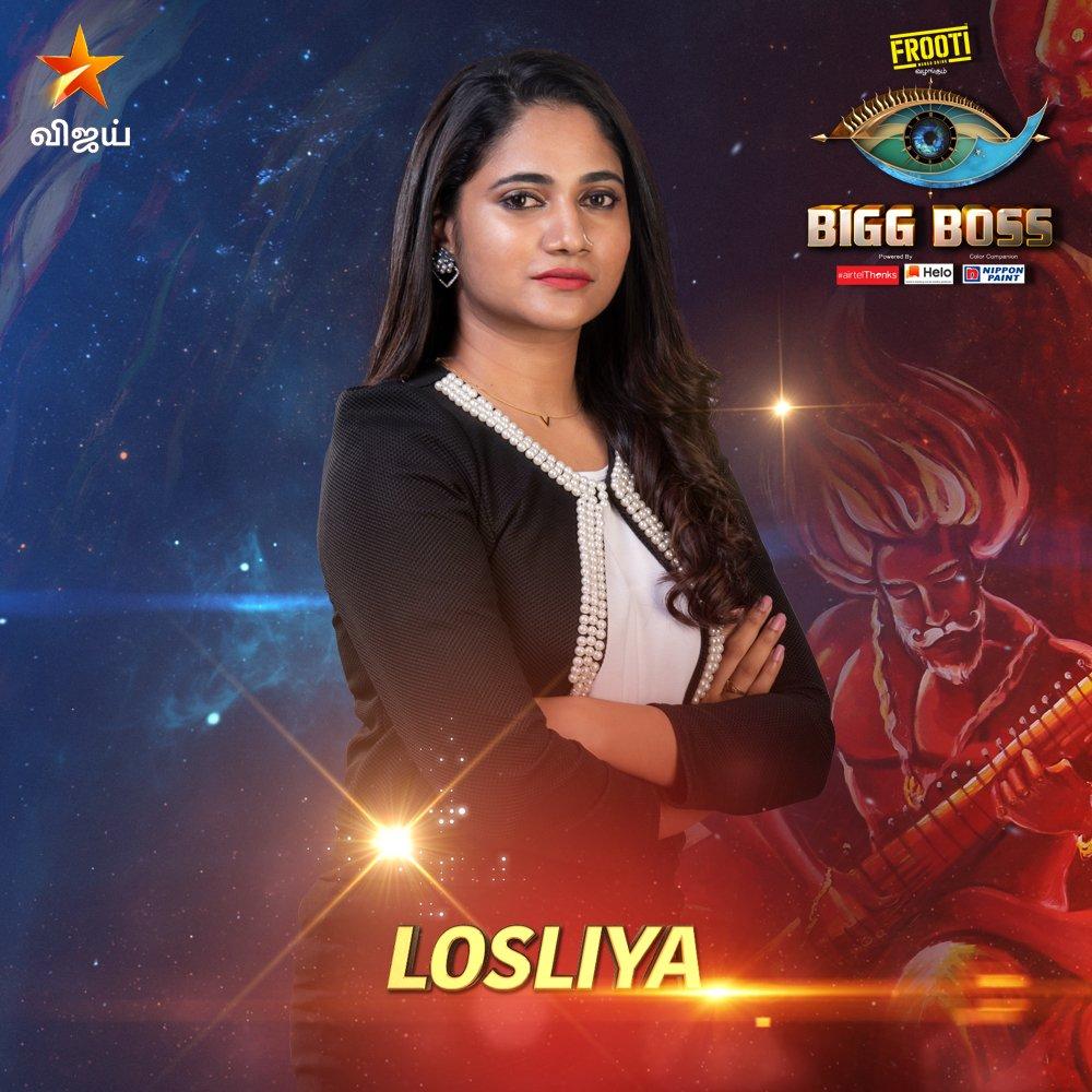 Bigg boss vote tamil for Losilya