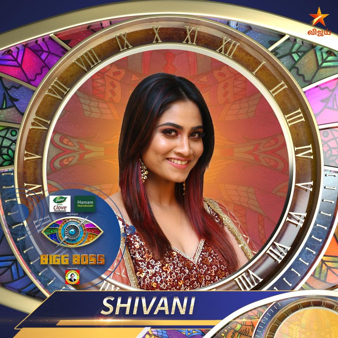 Bigg Boss Contestant Shivani narayanan