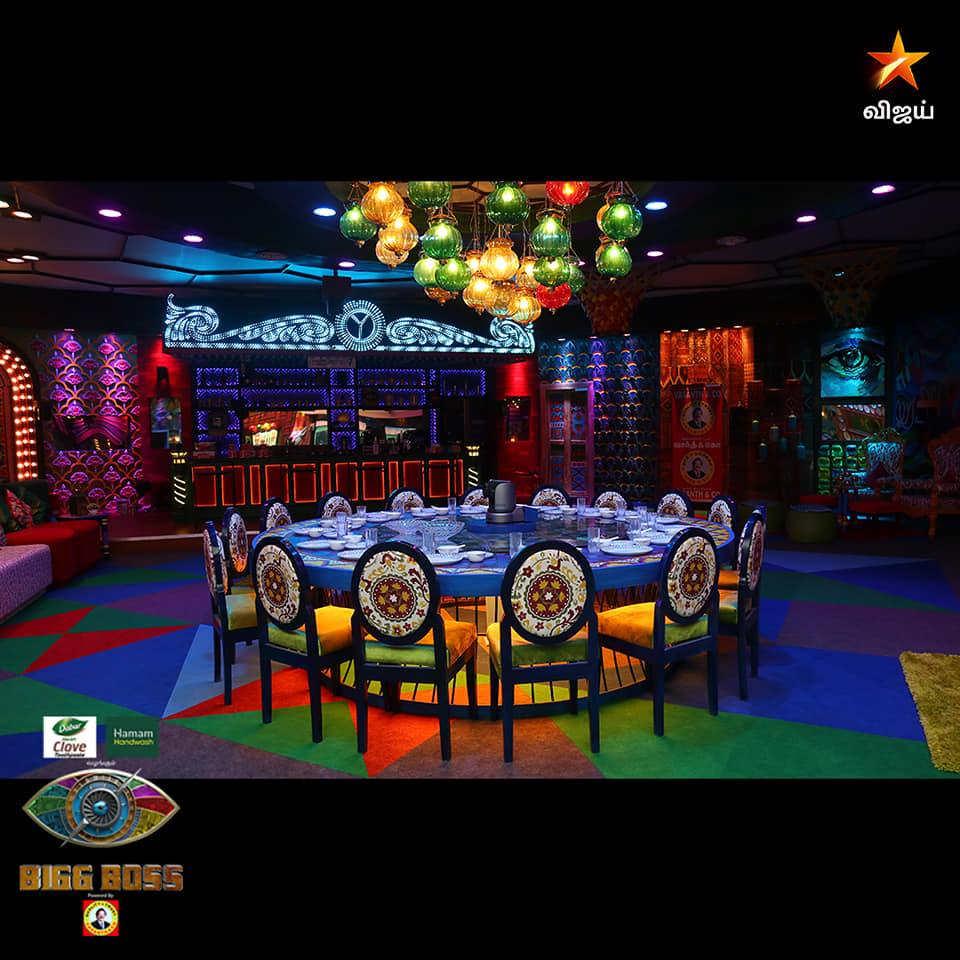 Bigg Boss Kitchen and Dining Area House Season 4