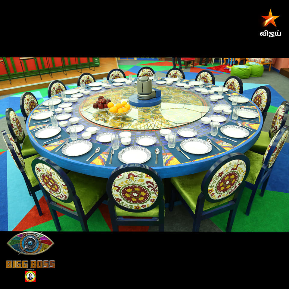 Dining Hall in Bigg Boss House Season 4