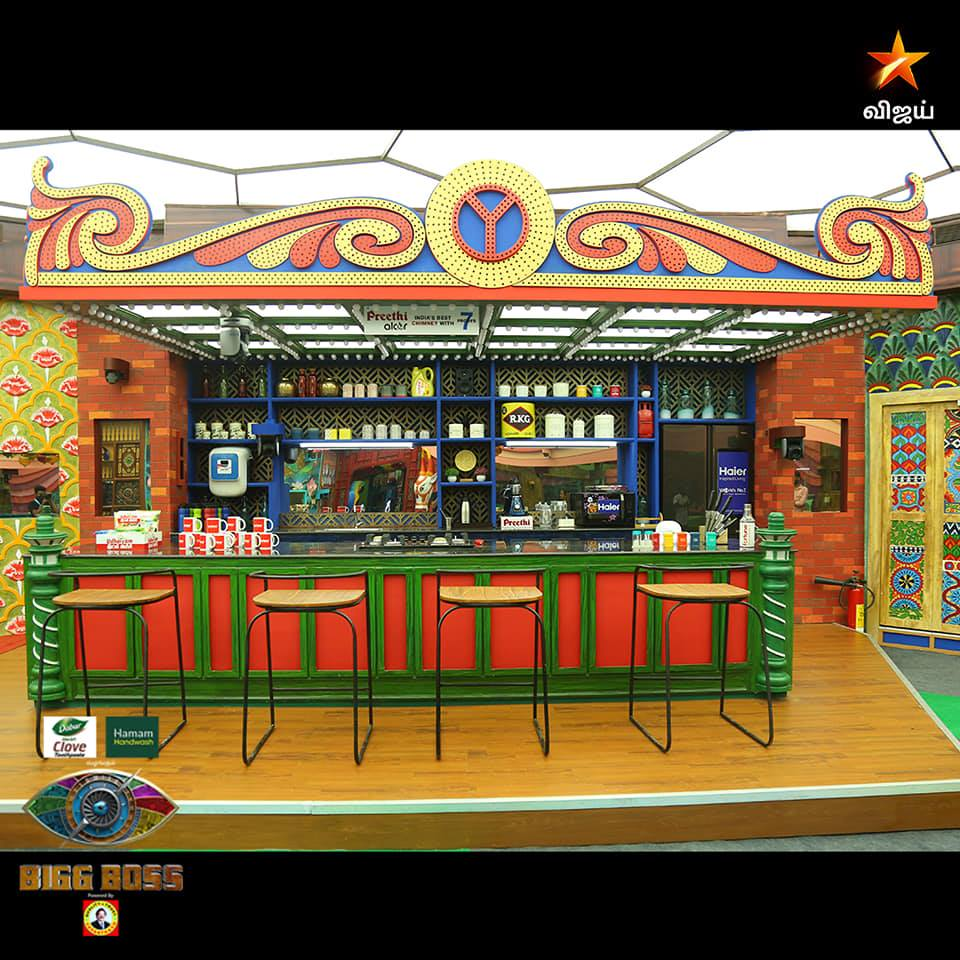 Kitchen in Bigg Boss Season 4 Tamil