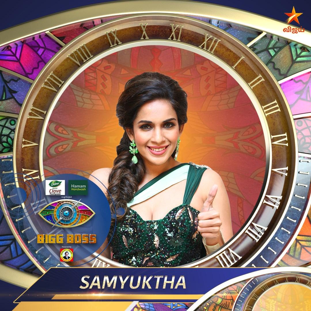 Samyuktha bigg Boss Contestant Tamil Season 4