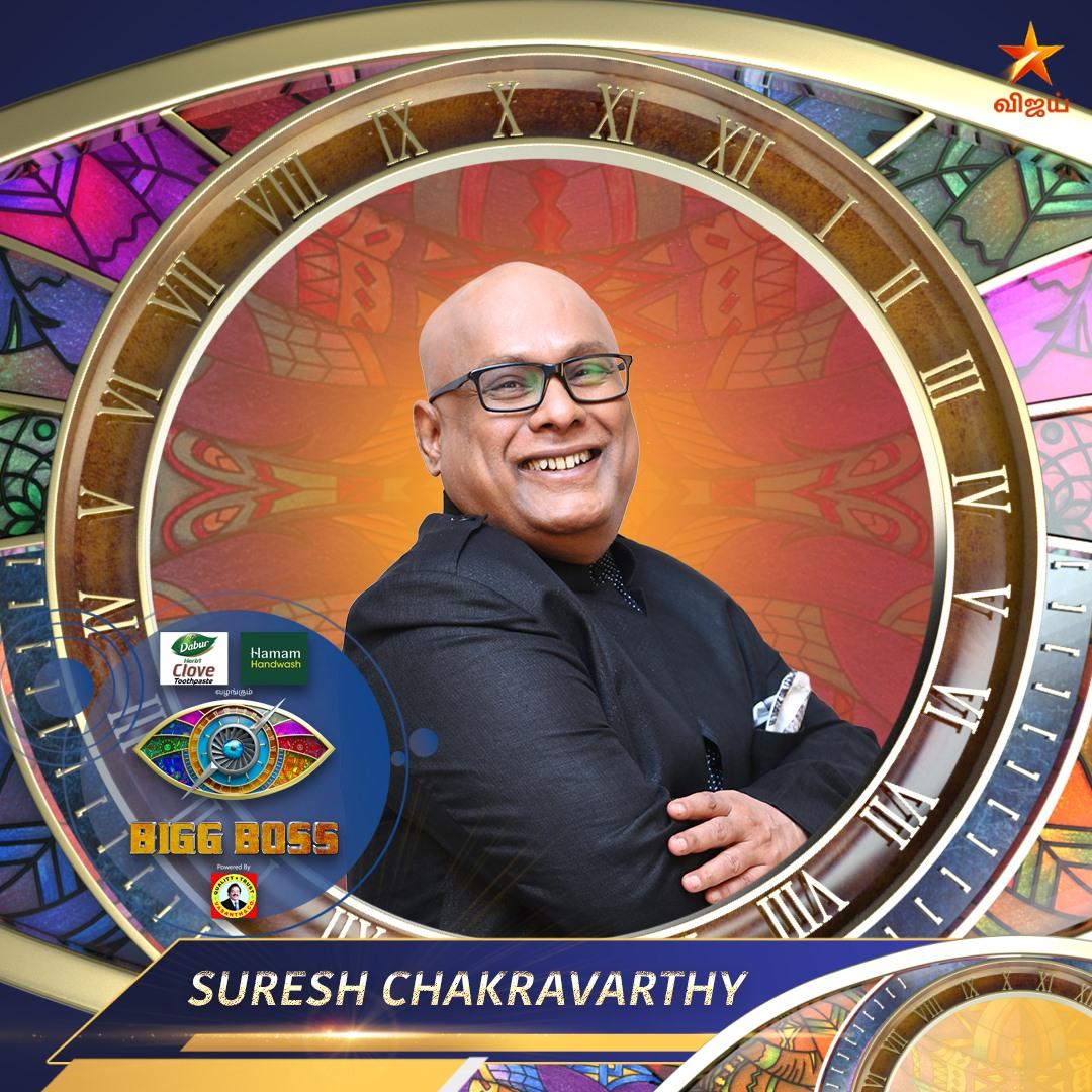 Suresh Chakravarthy Bigg Boss Tamil Seaon 4 Contestant