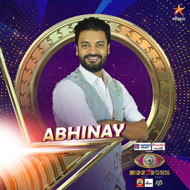 Abhinay Bigg Boss Contestant Tamil 5