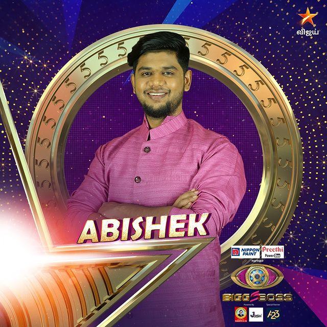 Abishek Bigg Boss Contestant Tamil