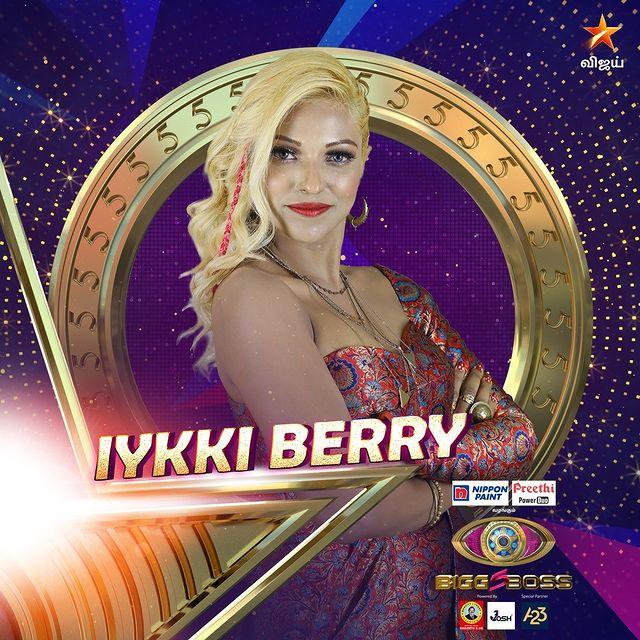 Iykki Berry Bigg Boss Contestant Season 5 tamil