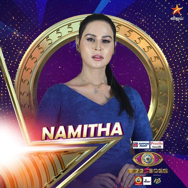 Namitha Tamil Contestant Bigg boss season 5