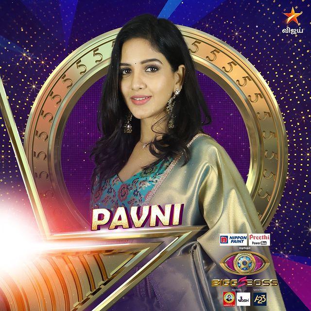 Pavni Bigg Boss Contestant Tamil