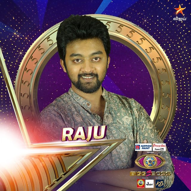 Raju Bigg Boss Tamil Season 5