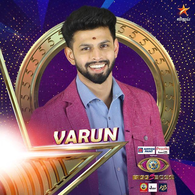 Varun Bigg Boss Tamil Contestant